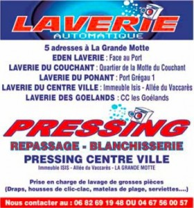 Laverie automatique - Pressing